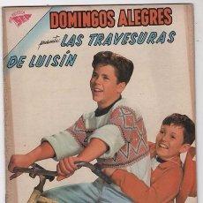 Tebeos: DOMINGOS ALEGRES # 360 NOVARO 1961LAS TRAVESURAS DE LUISIN MUY BUEN ESTADO . Lote 57371916