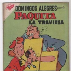 Tebeos: DOMINGOS ALEGRES # 229 PAQUITA PEPINO NOVARO 1958 LITTLE IODINE JIMMY HATLÓ EXCELENTE . Lote 57420015