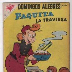 Tebeos: DOMINGOS ALEGRES # 238 PAQUITA PEPINO NOVARO 1958 LITTLE IODINE JIMMY HATLÓ EXCELENTE . Lote 57420019