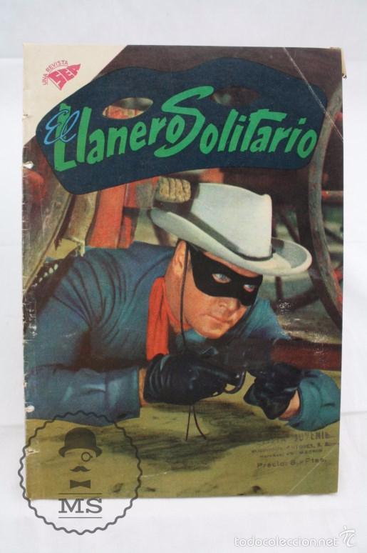 CÓMIC EL LLANERO SOLITARIO - LA NUEVA ARMA. Nº 84 - EDICIONES RECREATIVAS / NOVARO, AÑOS 60 (Tebeos y Comics - Novaro - El Llanero Solitario)