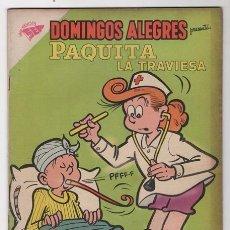 Tebeos: DOMINGOS ALEGRES # 281 PAQUITA PEPINO NOVARO 1959 LITTLE IODINE JIMMY HATLÓ EXCELENTE . Lote 57438527