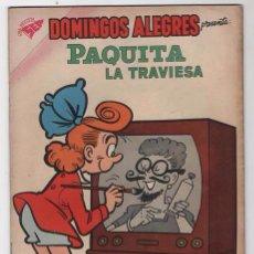Tebeos: DOMINGOS ALEGRES # 270 PAQUITA PEPINO NOVARO 1959 LITTLE IODINE JIMMY HATLÓ EXCELENTE. Lote 57438364