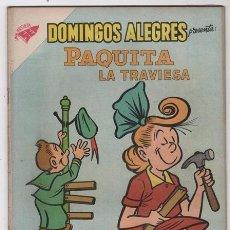 Tebeos: DOMINGOS ALEGRES # 298 PAQUITA PEPINO NOVARO 1959 LITTLE IODINE JIMMY HATLÓ EXCELENTE . Lote 57438737