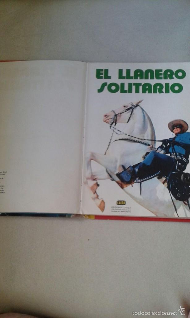 Tebeos: COMIC EL LLANERO SOLITARIO - Foto 4 - 57507066