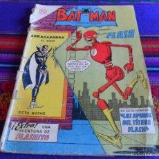 Tebeos: NOVARO, BATMAN Nº 215 PRESENTA A FLASH. AÑO 1964. LOS APUROS DEL TÍTERE FLASH. MUY RARO.. Lote 57573187