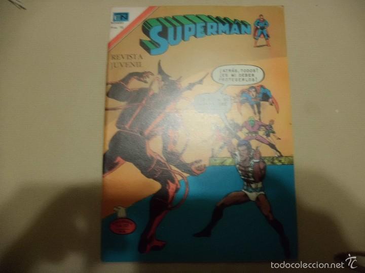 SUPERMAN Nº 1111 NOVARO (Tebeos y Comics - Novaro - Superman)