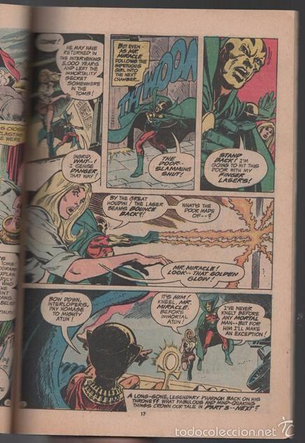 Tebeos: BATMAN AND MR. MIRACLE # 112 DC THE BRAVE AND THE BOLD IRV NOVICK JIM APARO AQUAMAN 100 PAG EXCELENT - Foto 2 - 57672168