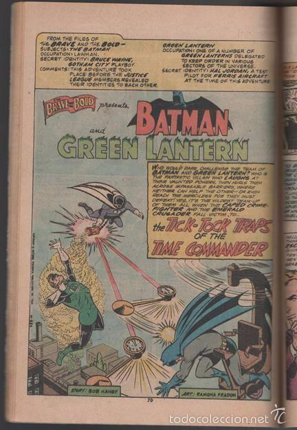 Tebeos: BATMAN AND MR. MIRACLE # 112 DC THE BRAVE AND THE BOLD IRV NOVICK JIM APARO AQUAMAN 100 PAG EXCELENT - Foto 7 - 57672168