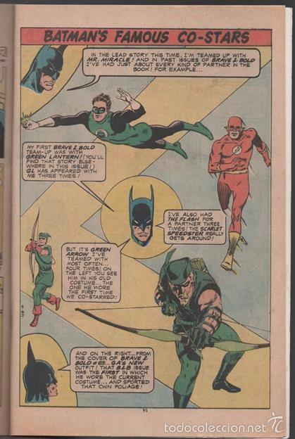 Tebeos: BATMAN AND MR. MIRACLE # 112 DC THE BRAVE AND THE BOLD IRV NOVICK JIM APARO AQUAMAN 100 PAG EXCELENT - Foto 8 - 57672168