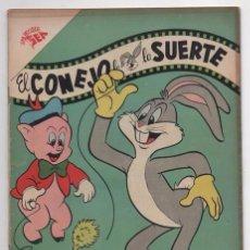 Tebeos: EL CONEJO DE LA SUERTE # 91 NOVARO 1958 ELMER GRUÑON PORKY SAM BIGOTES EXCELENTE ESTADO 40 # EN VENT. Lote 57693775