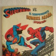 Tebeos: CÓMIC GIGANTE SUPERMAN VS SPIDER-MAN (NOVARO) (1976) 1ª EDICIÓN. Lote 57705024