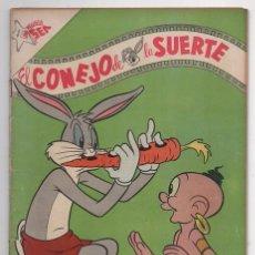 Tebeos: EL CONEJO DE LA SUERTE # 93 NOVARO 1958 ELMER GRUÑON PORKY SAM BIGOTES EXCELENTE 40 #S EN VENTA. Lote 57710960