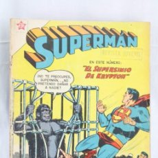 Tebeos: CÓMIC SUPERMAN - EL SUPERSIMIO DE KRYPTÓN. Nº 137 - ED. RECREATIVAS / NOVARO, AÑO 1958. Lote 57949088