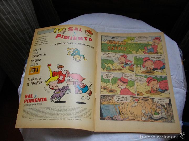 Tebeos: COMICS - NOVARO - EL CONEJO DE LA SUERTE -- Nº 343 - VER FOTOS - MIRAR TODOS MIS LOTES DE TEBEOS - Foto 2 - 58322184