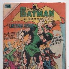 Tebeos: BATMAN # 535 NOVARO 1970 LINTERNA VERDE EN EL AÑO 5708 D.C. BUEN ESTADO. Lote 58354066