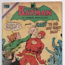 Tebeos: BATMAN # 557 NOVARO 1970 EL DIA QUE FLASH FALLO ROSS ANDRU & MIKE ESPOSITO MUY BUEN ESTADO. Lote 58354193