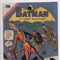 Tebeos: BATMAN # 565 NOVARO 1970 LINTERNA VERDE JOHN BROOME GIL KANE & VINCEN COLLETTA IMPECABLE. Lote 58362343