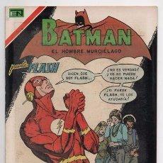 Tebeos: BATMAN # 599 NOVARO 1971 FLASH EL RAYO ESCARLATA & ZITANA GIL KANE & VINCE COLLETTA IMPECABLE. Lote 58366654