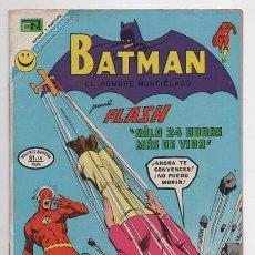 Tebeos: BATMAN # 635 NOVARO 1972 FLASH & HOMBRE ELASTICO KANIGHER, IRV NOVICK & MURPHY ANDERSON EXCELENTE. Lote 58367030