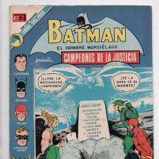 Tebeos: BATMAN # 689 NOVARO 1973 CAMPEONES DE LA JUSTICIA HOMBRE ARAÑA TOR MARVEL GIORDANO IMPECABLE. Lote 58367680