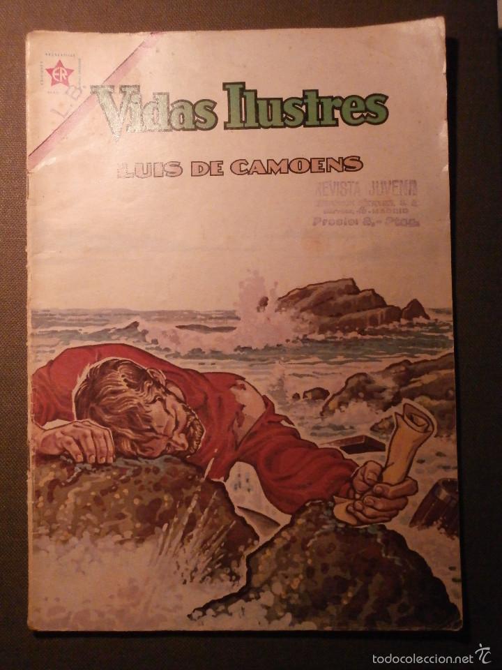 COMIC - VIDAS ILUSTRES - LUIS DE CAMOENS - AÑO IX - N1 87 - ER - EDICIONES RECREATIVAS - (Tebeos y Comics - Novaro - Vidas ilustres)