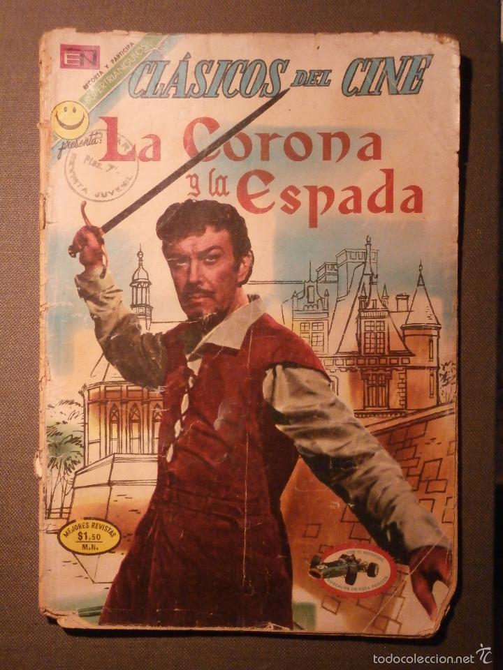 COMIC - CLÁSICOS DEL CINE - LA CORONA Y LA ESPADA - NOVARO (Tebeos y Comics - Novaro - Otros)
