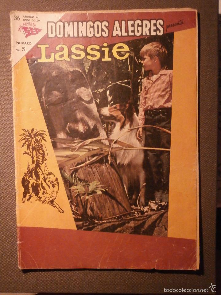 COMIC - DOMINGOS ALEGRES - LASSIE - AÑO X - Nº 494 - SEA - NOVARO (Tebeos y Comics - Novaro - Otros)