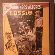 Tebeos: COMIC - DOMINGOS ALEGRES - LASSIE - AÑO X - Nº 494 - SEA - NOVARO. Lote 58372180