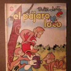 Tebeos: COMIC - EL PAJARO LOCO - BOUGAIINVILLE - AÑO XV - Nº 262 - NOVARO . Lote 58372189