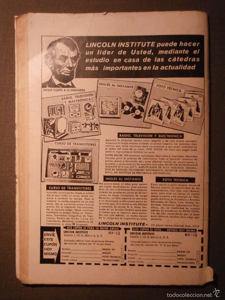 Tebeos: COMIC - EL PAJARO LOCO - BOUGAIINVILLE - AÑO XV - Nº 262 - NOVARO - Foto 2 - 58372189