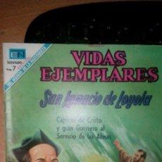 Tebeos: VIDAS EJEMPLARES. SAN LUIS MARIA DE MONTFORT NOVARO. Lote 58644288