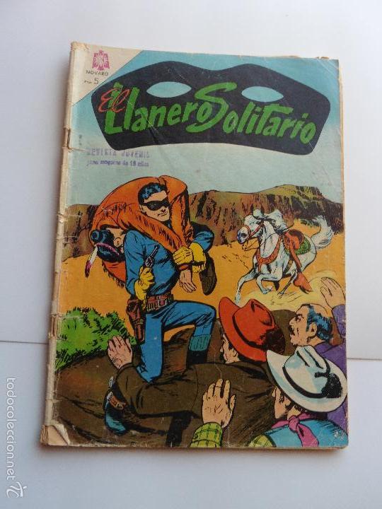 LLANERO SOLITARIO Nº 144 NOVARO ORIGINAL (Tebeos y Comics - Novaro - El Llanero Solitario)