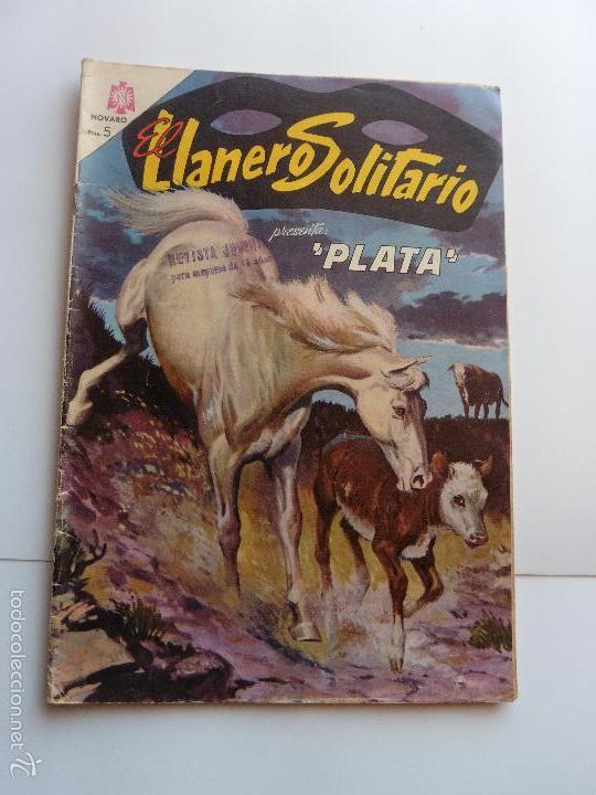 LLANERO SOLITARIO Nº 145 NOVARO ORIGINAL (Tebeos y Comics - Novaro - El Llanero Solitario)