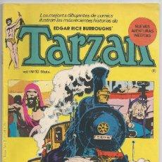 Tebeos: TARZAN - Nº 10 *EL TREN DEL ORO* - HITPRESS 1980. Lote 60691451
