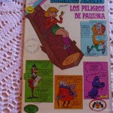 Tebeos: NOVARO DOMINGOS ALEGRES LOS PELIGROS DE PAULINA 942. Lote 95496359