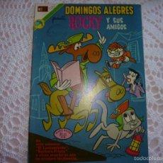 Tebeos: NOVARO DOMINGOS ALEGRES 974 ROCKY Y SUS AMIGOS. Lote 95496244