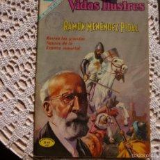 Livros de Banda Desenhada: NOVARO VIDAS ILUSTRES RAMON MENENDEZ PIDAL 215. Lote 60886827