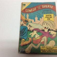 Tebeos: EL CONEJO DE LA SUERTE Nº NOVARO. Lote 61594624