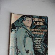 Tebeos: DOMINGOS ALEGRES EL INVESTIGADOR SUBMARINO Nº 408 ORIGINAL. Lote 61731420