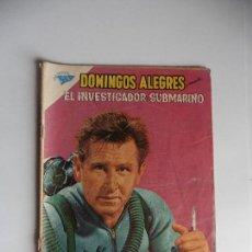 Tebeos: DOMINGOS ALEGRES EL INVESTIGADOR SUBMARINO Nº 392 ORIGINAL. Lote 61731600