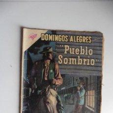 Tebeos: DOMINGOS ALEGRES PUEBLO SOMBRIO Nº 331 ORIGINAL. Lote 61732736
