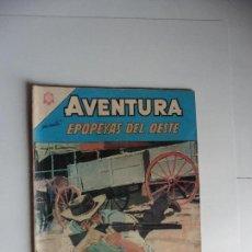 Tebeos: EPOPEYEAS DEL OESTE Nº 398 AVENTURA NAVARO ORIGINAL. Lote 61739800