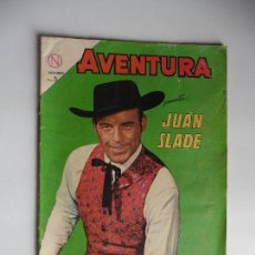Tebeos: JUAN SLADE Nº 324 AVENTURA NAVARO ORIGINAL. Lote 61808708
