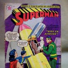 Tebeos: TEBEO O COMIC SUPERMAN, Nº 273, ENERO 1961, EDITORIAL NOVARO, LEER DESCRIPCION. Lote 62000320