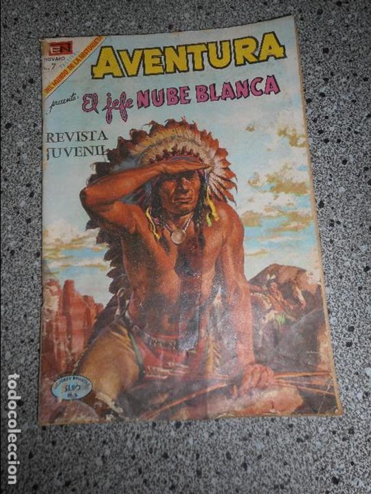EL JEFE NUBE BLANCA (Tebeos y Comics - Novaro - Aventura)