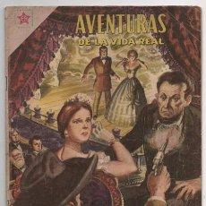 Tebeos: AVENTURAS DE LA VIDA REAL # 38 NOVARO 1959 ABRAHAM LINCOLN LIBERTADOR DE LOS ESCLAVOS BUEN ESTADO. Lote 62407828