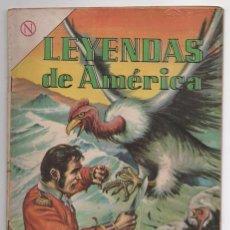 Tebeos: LEYENDAS DE AMERICA # 98 NOVARO 1964 LEYENDA BOLIVIANA LA LUCHA CONTRA EL MIEDO BUEN ESTADO. Lote 62483304