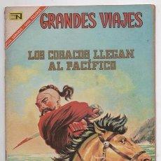 Tebeos: GRANDES VIAJES # 49 NOVARO 1967 LOS COSACOS LLEGAN AL PACIFICO BUEN ESTADO. Lote 62513112