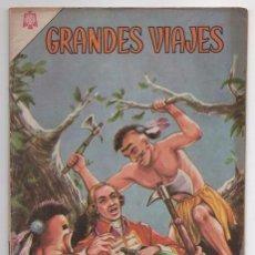 Tebeos: GRANDES VIAJES # 27 NOVARO 1965 LUIS ANTONIO DE BOUGAINVILLE MUY BUEN ESTADO. Lote 62568308
