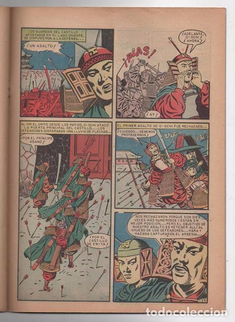 Tebeos: EPOPEYA # 3 NOVARO 1958 EL ATAQUE DE LOS SAMURAIS EXCELENTE ESTADO - Foto 4 - 62568360